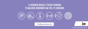 zes gouden regels tegen corona